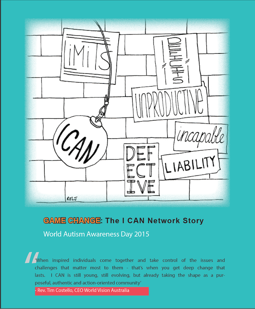 I CAN LTD. 2015 - GAME CHANGE REPORT