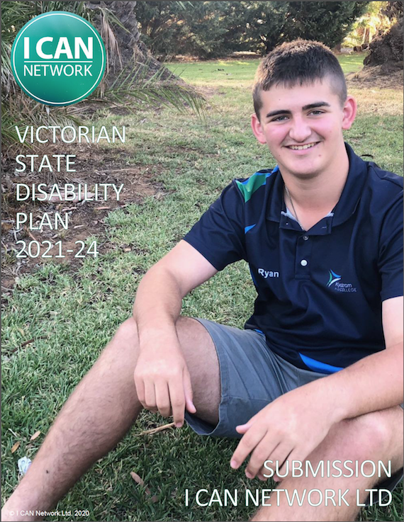 I CAN SUBMISSION VIC STATE DISABILITY PLAN 2021-24